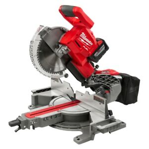 "New! Milwaukee M18 FUEL Dual Bevel Sliding 10"" Miter Saw 2734-20"