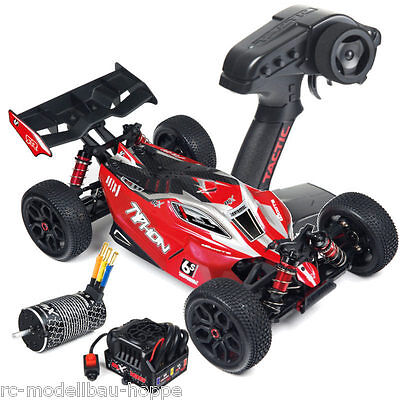 Arrma Typhon 6S 4WD BLX 1-8 Buggy RTR rot schwarz AR106013 MODELL 2016