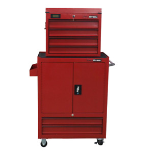"""58.5""""H 6-Drawer Combo Tool Chest/Tool Tower with Keys Sealedbox"""