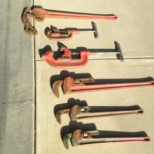 Large Pipe Fitter Tools