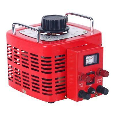 Auto Transformer Ac Variable Voltage Regulator Metered 3000w 0-130v New