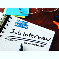 Professional Resume Writing & Interview Coaching