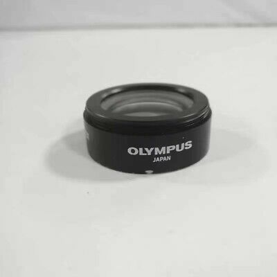 1pc Used Olympus Microscope 110al0.62x Auxiliary Lens For Sz51 Sz61 Sz30sz40sz60