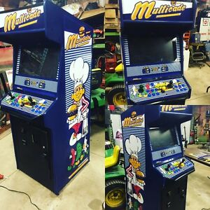 AWESOME MULTICADE 2 PLAYER ARCADE CABINET MACHINE MUST SEE
