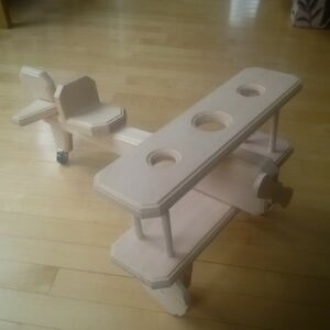 Hand-crafted wooden biplane St. John's Newfoundland image 1