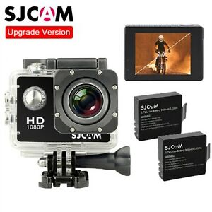 Original-SJCAM-SJ4000-12M-HD-1080P-Sports-Action-Camera-Waterproof-w-2x-Battery