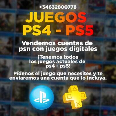 JUEGOS PS4 - PS5 DIGITALES LOW COST