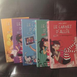 Série complète roman Le carnet d'Allie Saguenay Saguenay-Lac-Saint-Jean image 1