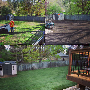 Landscaping / Property Maintenance / Sod Installation Kitchener / Waterloo Kitchener Area image 3