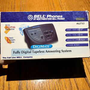 BELL DigiMate Digital VPS Answering Machine with 3 Mailboxes