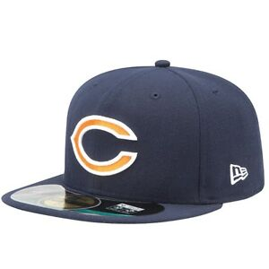 Chicago Bears New Era On Field fitted hat