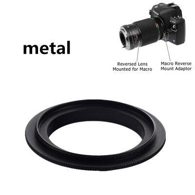 52mm Macro Lente Montaje Reverso Anillo Adaptador Para Canon EOS Ef /...