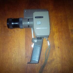 VINTAGE CANON ZOOM REFLEX 8 8 mm MOVIE FILM CAMERA