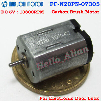 Mabuchi Ff-n20pn Dc 3v-9v 5v 6v 13800rpm Micro 10mm Dc Motor For Smart Door Lock