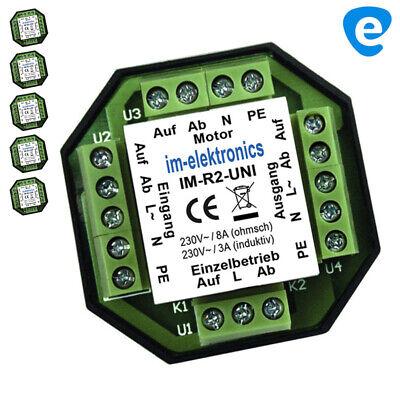 Mando a distancia con 8 canales para motor electr/ónico persianas Jarolift TDRC