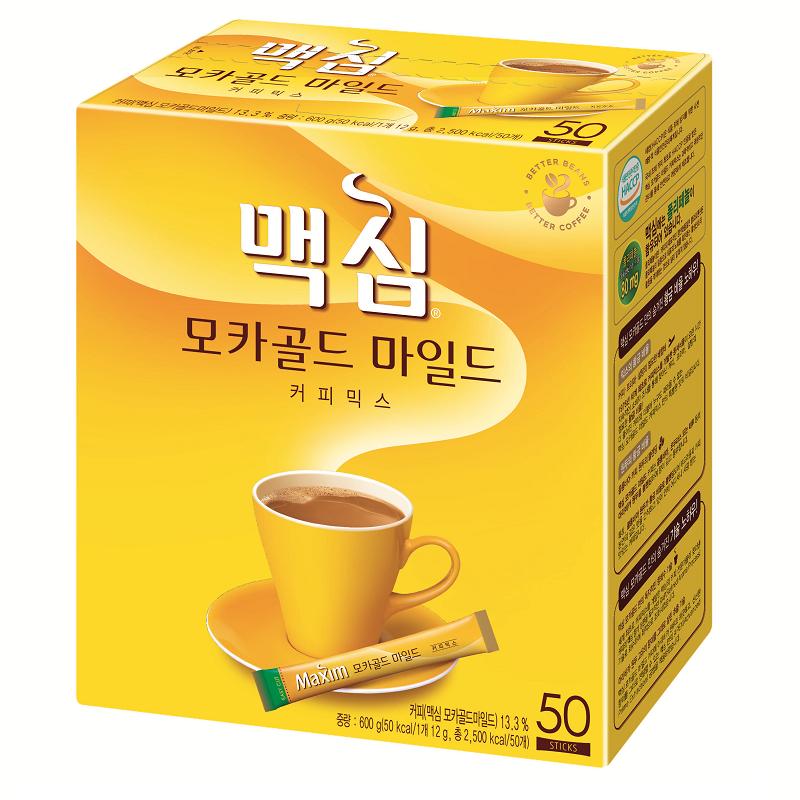 Maxim Mocha Gold Mild Korean Instant Coffee Mix 10/20/50 ...