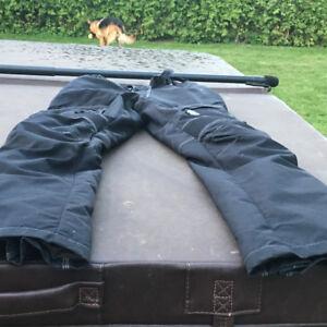 Joe Rocket Motorcycle textile jacket and pants.