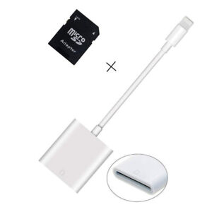 Brand New SD Card Reader Compatible for iPhone iPad Trail