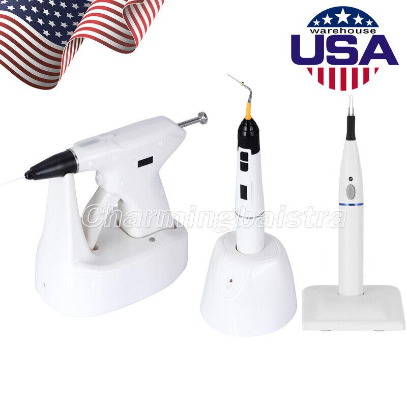 USA Dental Endo Obturation System Gutta Percha Gun Heated Pen /Tooth Gum Cutter