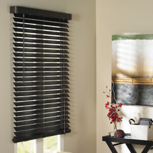 """Two sets of 2"""" faux blinds (for 48 x 60 windows)"""