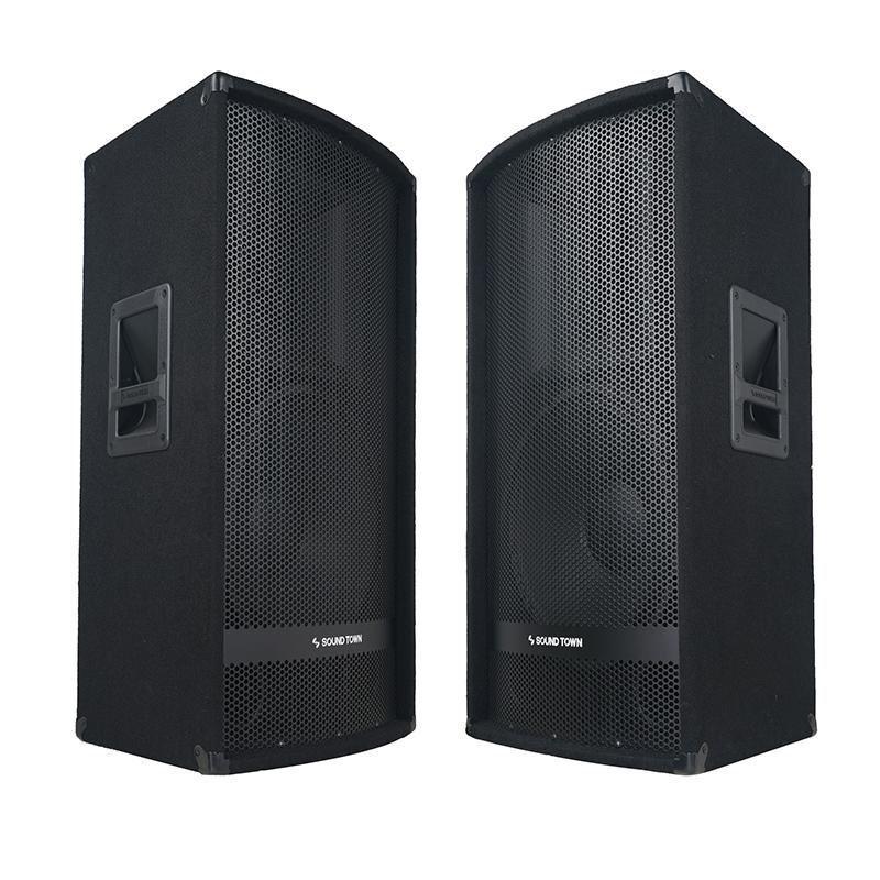 """Sound Town 15"""" 1400W 2-Way Full-range DJ PA Passive Loud Spe"""