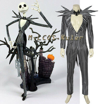 The Nightmare Before Christmas Cosplay Jack Skellington Costume Halloween - Jack Skellington Cosplay