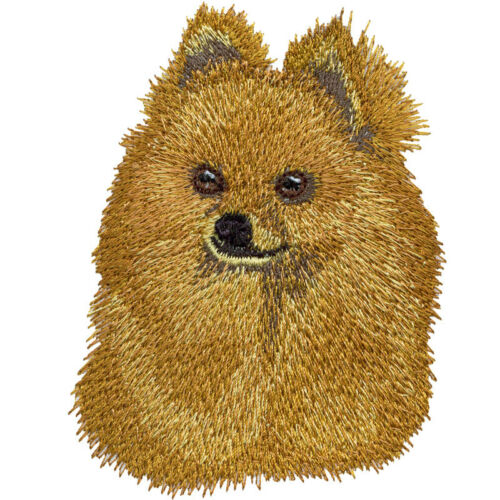 Pomeranian Dog Kids Bathroom Set HAND TOWELS EMBROIDERED Beautiful