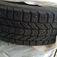 Six (6) winter tires size 225/75 R17
