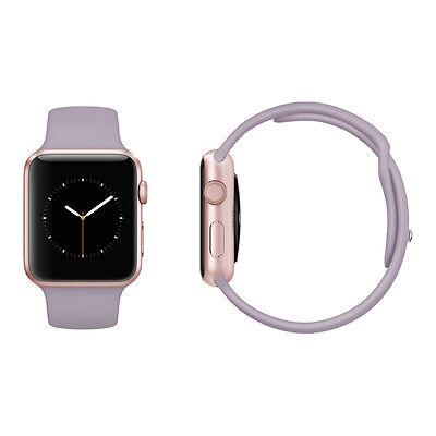 Apple Watch Sport 38mm Rose Gold Aluminium Case Lavender Sport Band