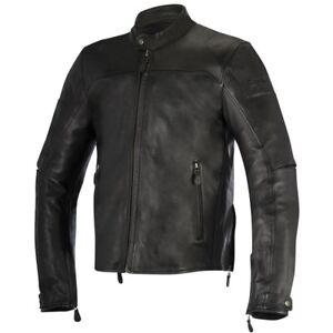 Manteau de cuir moto alpinestars Gr 52 BRERA LEATHER JACKET