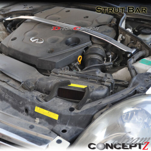 Aluminum front Strut Bar For 20032007 Infiniti G35 Coupe  2003
