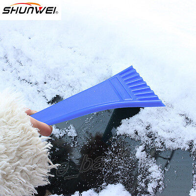 Winter Car Vehicle Snow Ice Scraper SnoBroom Snowbrush Shovel Removal Brush B
