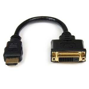 HDMI to DVI (female) adapter cable