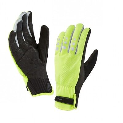 Sealskinz Waterproof All Weather Cycle XP Gloves - winter, High Vis Yellow