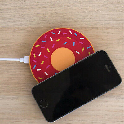 Donut Drahtlose induktive Ladestation Gift Republic Doughnut Bunt