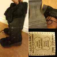 Nice pair of tall black boots size 7