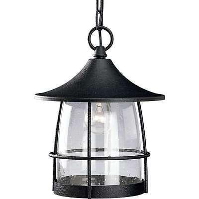 Gilded Iron Finish Outdoor Hanging Lantern Wire Frame Progress Lighting - Gold Finish Outdoor Pendants
