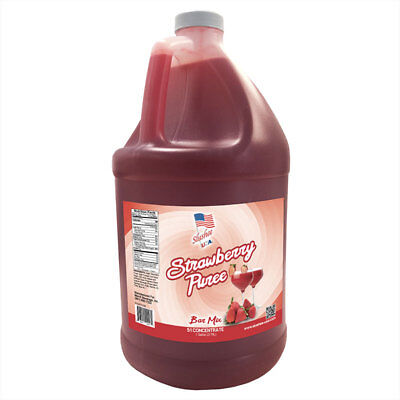 Daiquiri Strawberry Mix - Strawberry Puree Margarita/Daiquiri Frozen Drink Mix   1 Gallon