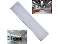 36W 1200x300mm Slim LED Panel Light Suspended Recessed Surface Mount Cool White, Shop Store Office