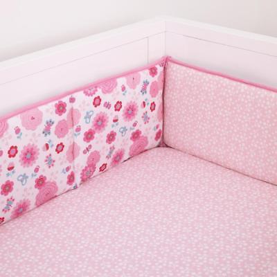 Disney Minnie Mouse Secure-Me Crib Bumper