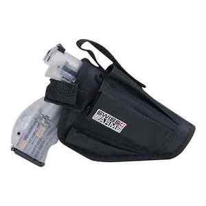 Swiss Arms Universal Black Tactical Hip Gun Belt Pistol Holster Airsoft ☀️UK☂️