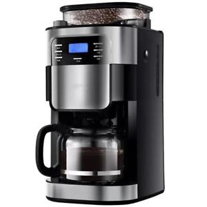 220V 900W HOME COMMERCHIAL ELECTRIC AUTOMATIC COFFEE MAKER COFFEE MACHINE 029033