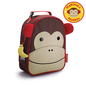 SKIP HOP Marshall the Monkey Lunch Bag