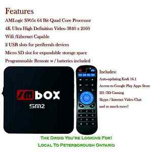 Android 6.0 Internet Tv Box - The Droid You're Looking For!  Peterborough Peterborough Area image 1