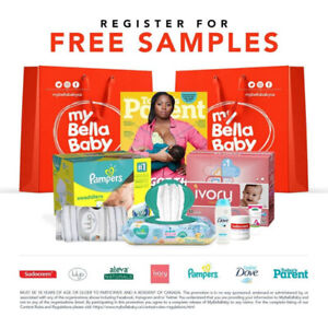 New & Expectant Parents! Free Sample bag @ mybellababy.ca