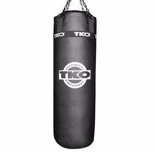 TKO 100lbs Punching Bag with Chain