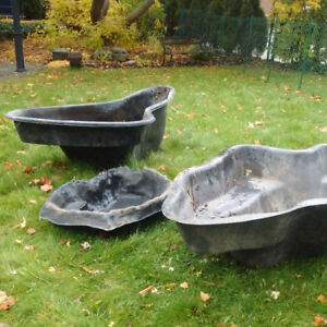 3 Solid Pond Liners - Unused and in Perfect Condition