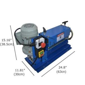 110V 370W Automatic Large Copper Wire Stripper Cable Stripping Machine 153082