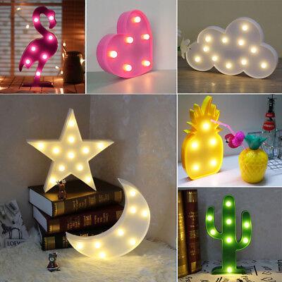 Cute Star Unicorn Lamp