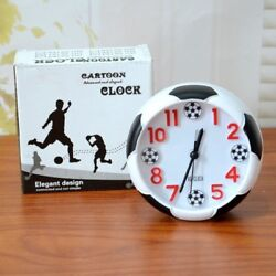 Creative Football Alarm Clock Student Desktop Decoration Alarm Clock WH1